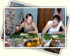 FOOD WITH TRADITIONAL FAMILY